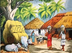 Indian Village Paintings