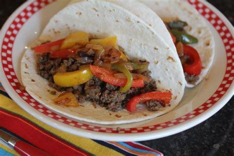 what can i make with beef ground beef fajita salad