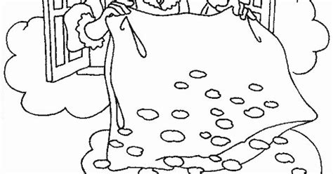 Kleurplaat Vrouw Holle by Kleurplaat Sneeuw Vrouw Holle Sprookjes