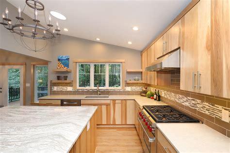 open floor plans drive kitchen cabinet trends
