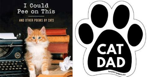 8 Cat-themed Gifts He Wants For Feline Father's Day