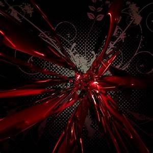 Red and black abstract theme Chrome Theme