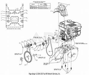 Troy Bilt 31am6cp4711 Storm 2860  2016  Parts Diagram For