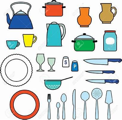 Kitchen Utensils Clipart Cooking Kitchenware Dishware Clip