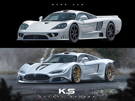update tesla model  rendered  ev hypercar