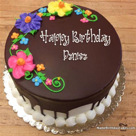 happy birthday denise cakes cards wishes