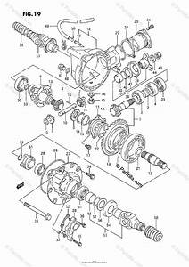Suzuki Atv 1992 Oem Parts Diagram For Differential Gear