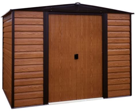 Keter Storage Shed 8x10 by Arrow 8x6 Dallas Metal Storage Shed Kit Ed86