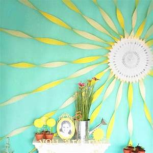Wall Decor Crepe Paper Wall Decorations: crepe-paper-wall