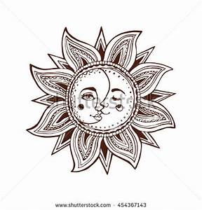 Sun Faces Moon Stock Photos, Images, & Pictures | Shutterstock