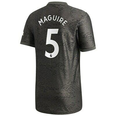 Eric cantona manchester united f.c. Adidas 2020-21 Manchester United Away Maguire 5 Jersey ...
