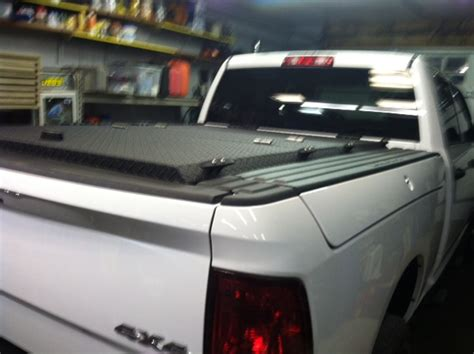 black heavy duty truck bed cover  ram  rambox flickr