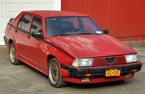 Daily Turismo Ratto Macchina 1987 Alfa Romeo Milano Gold