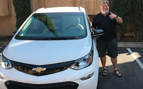 apples woz likes chevy bolt ev   tesla model