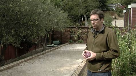 bocce ball court size materials youtube