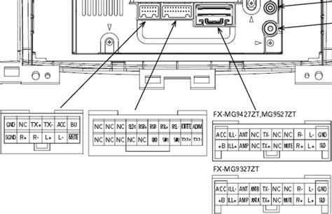 Pioneer Car Radio Stereo Audio Wiring Diagram Autoradio