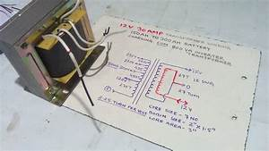 How To Make 12 Volt 30 Amp Battery Charger Transformer