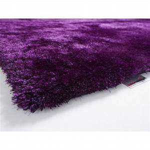tapis shaggy colour courage aubergine achat vente With tapis de bain aubergine