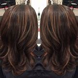 Dark Brown Hair With Caramel Highlights | 736 x 736 jpeg 90kB