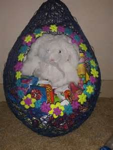 Starch Balloon Easter Basket With