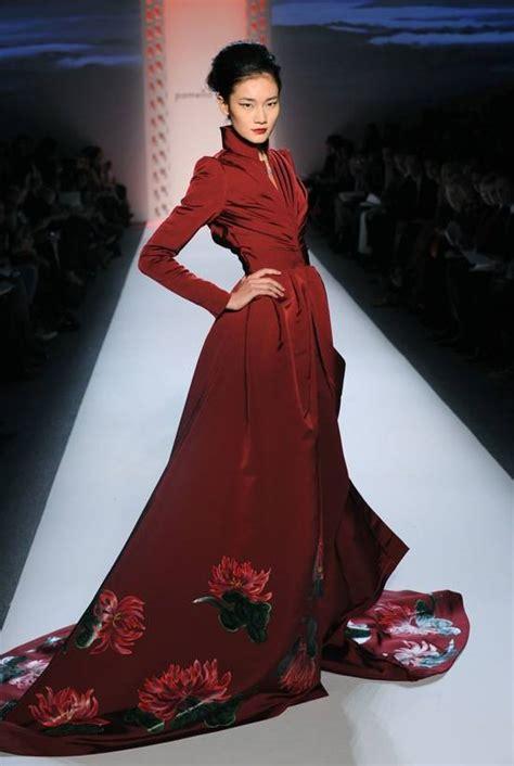 york fashion week pamella roland brings asian