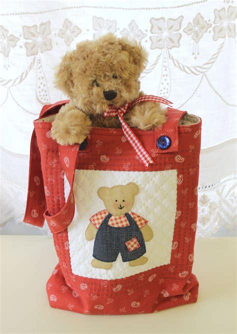 teddy bear pattern  cushion bag  quilt sunflower
