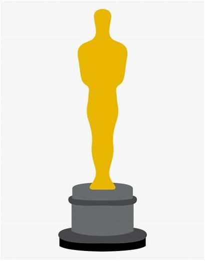 Oscar Trophy Award Clipart Oscars Academy Clip