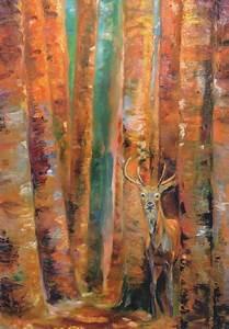 Gemälde Hirsch Modern : zita schlegel foto gru karten mit tiermotiven bestellen ~ Orissabook.com Haus und Dekorationen