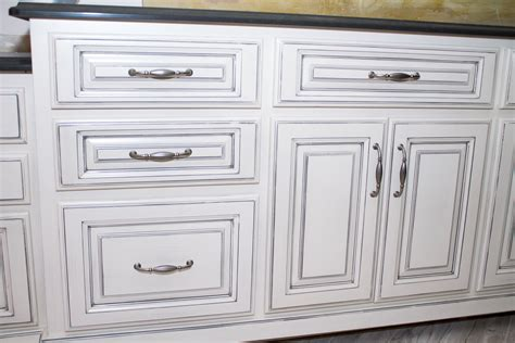 off white cabinets with brown glaze white cabinets with dark gray glaze savae org