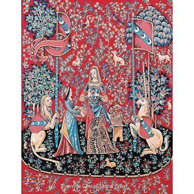 Tapisserie Dame à La Licorne by Margot Canevas Tapisserie Dame 224 La Licorne L Odorat