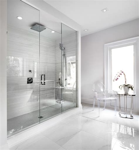 modern white floor l 33 amazing ideas and pictures of modern bathroom shower