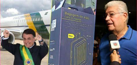 requiao ironiza bolsonaro tinha vetado bagagem acima de