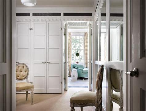 walk  closet  paneled bi fold wardrobe closet doors