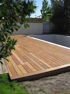 pose terrasse bois sur beton myqtocom With pose dalle terrasse bois