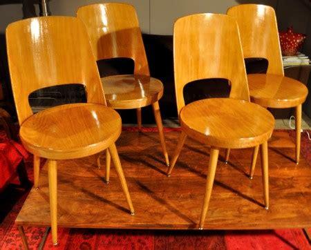 chaise bauman 4 chaises baumann mondor de 1964 la brocante de gribouille