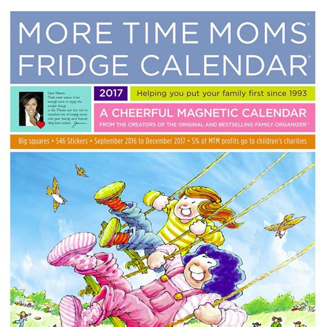 check fridge calendar video time moms musings