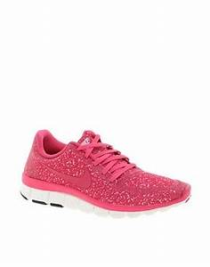 NIKE FREE RUNNING 5 0 V4 PINK TRAINERS on The Hunt