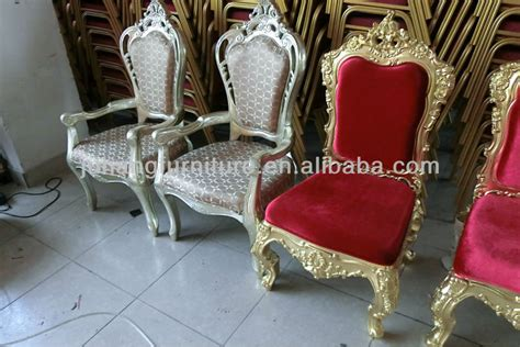 designer king and wedding chairs view king and