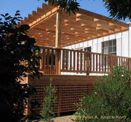 Enclosing Balcony by Lattice Under Deck Ideas Plans How To Build A 10 215 10 Shed