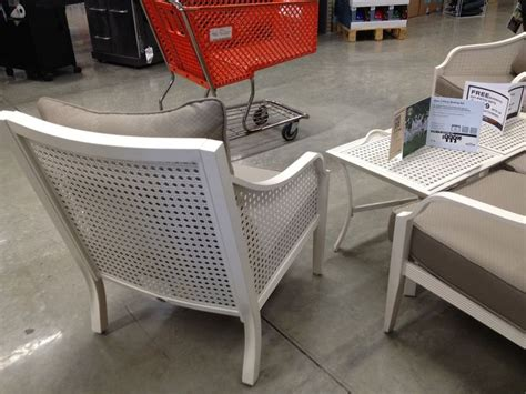 martha stewart outdoor patio chair metal white style