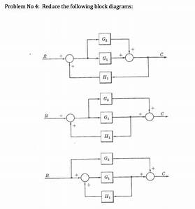 Solved  Problem No 4  Reduce The Following Block Diagrams