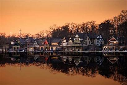 Boathouse Row Philadelphia Philly Iconic Wallpapers Summer