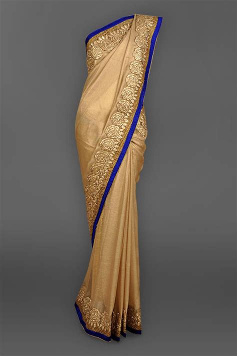 And Gold Sari shop antique gold sari with gota border southeast