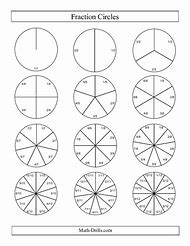 best fraction circles  ideas and images on bing  find what youll love printable fraction circle worksheets