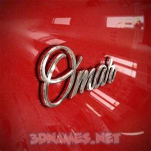 30 3D Name wallpaper images for the name of 'Omar'