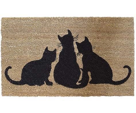 doormat cat doormats large and small for a beautiful home available