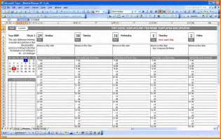 Free Excel Project Planner Template