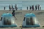 台南漁光島海灘驚見「帳篷四腳獸」!77秒影片瘋傳...警方回應了 | ETtoday社會 | ETtoday新聞雲