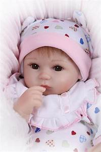 Top quality 45cm npk dolls soft silicone reborn baby dolls handmade soft vinyl baby dolls new for Best reborn baby dolls