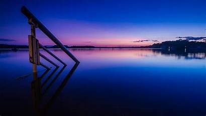 5k Sunset Lake Reflections Wallpapers Hdwallpaperslife